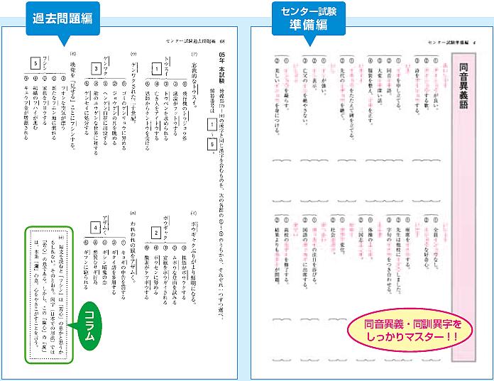 センター試験対応 入試頻出漢字